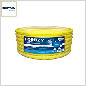 Eletroduto Flexível Corrugado PVC Antichama Amarelo